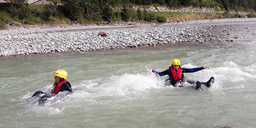Firmenevent: Rafting Level 1 & Teamspiele