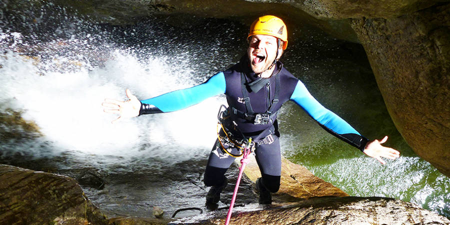 Teambuilding: Canyoning Level 2 & Teamspiele