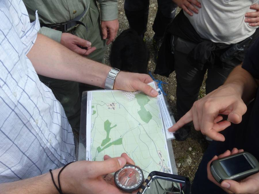 Geocaching als Firmenevent oder Teambuilding