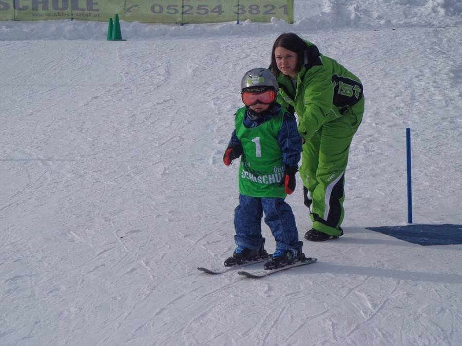 Kinderskikurs in Sölden (Tirol)