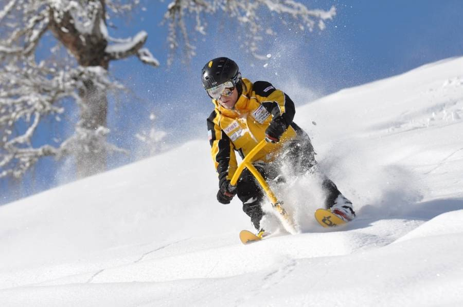 Snowbike Tour mit Guide in Flachau (Salzburger Land)