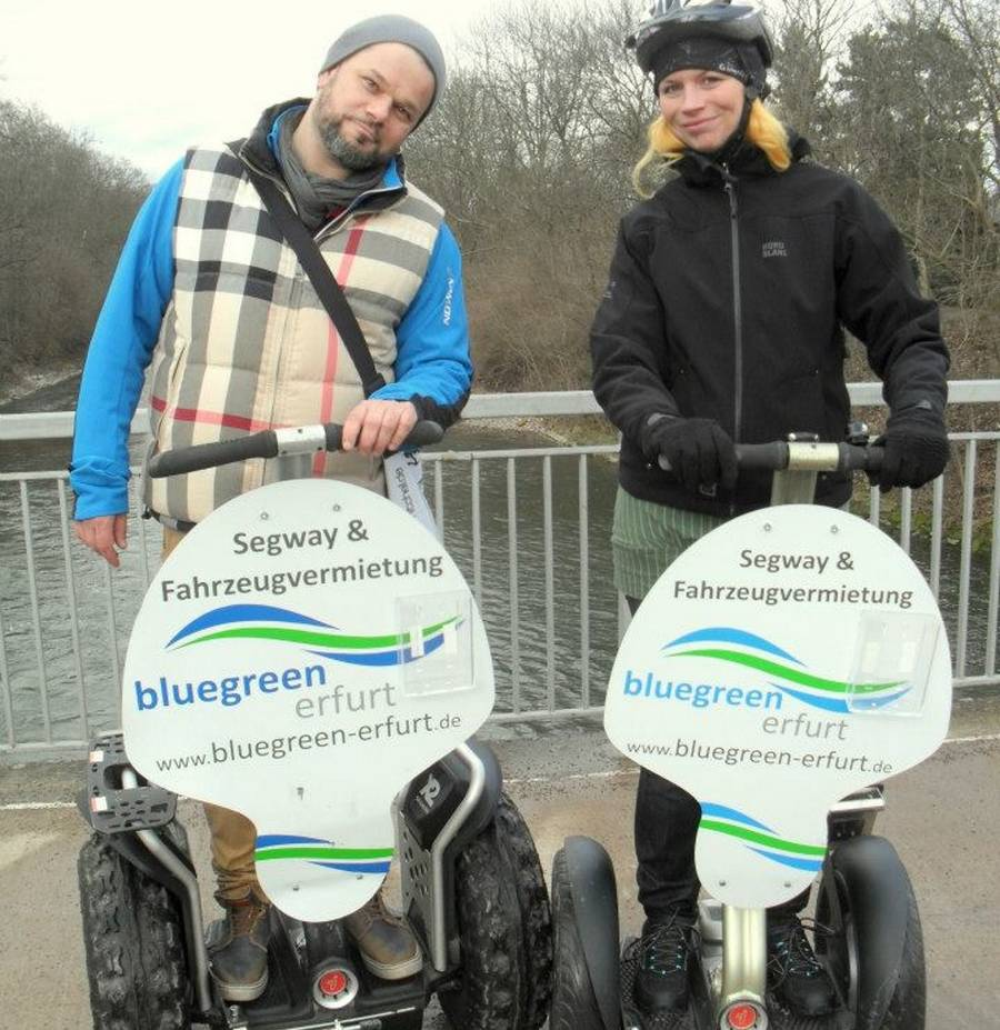 Segway-Candlelight-Tour in Erfurt