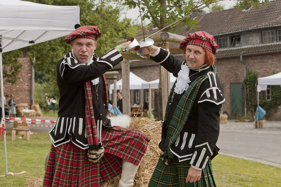 Highland Games als Team Event in Bonn
