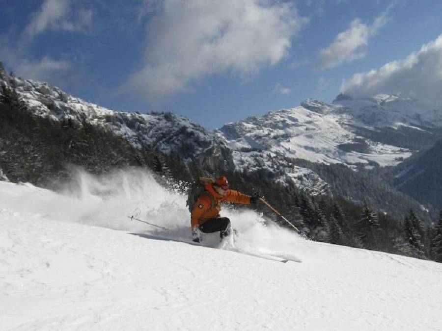 Freeride Boot Camp in Disentis (Schweiz)