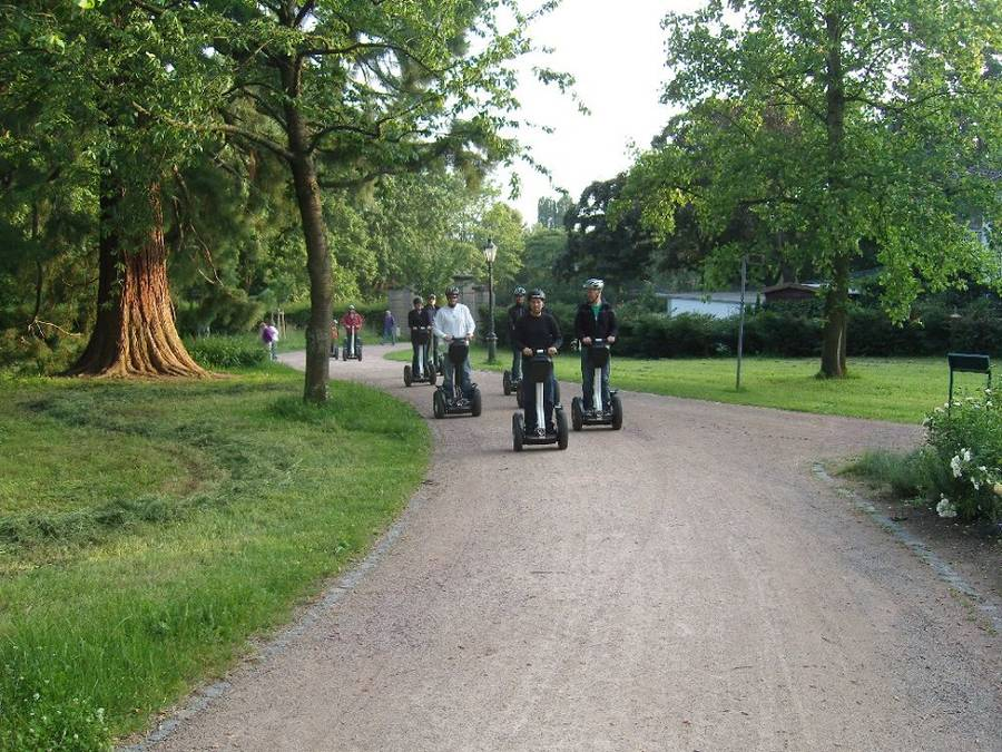 Firmenevent - Segway Tour Darmstadt & Whisky Tasting