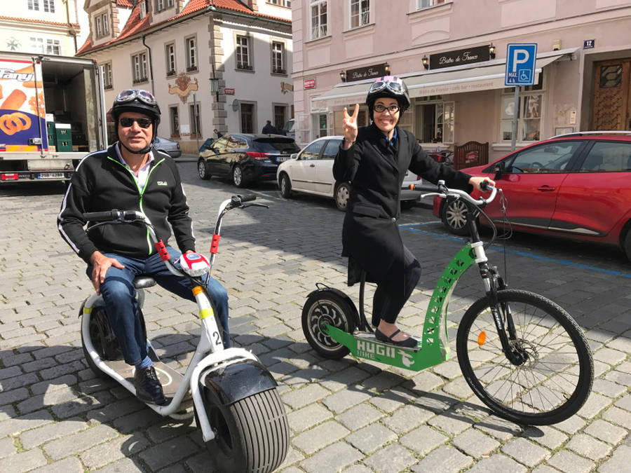 E-Scooter Tour Prag - City Tour