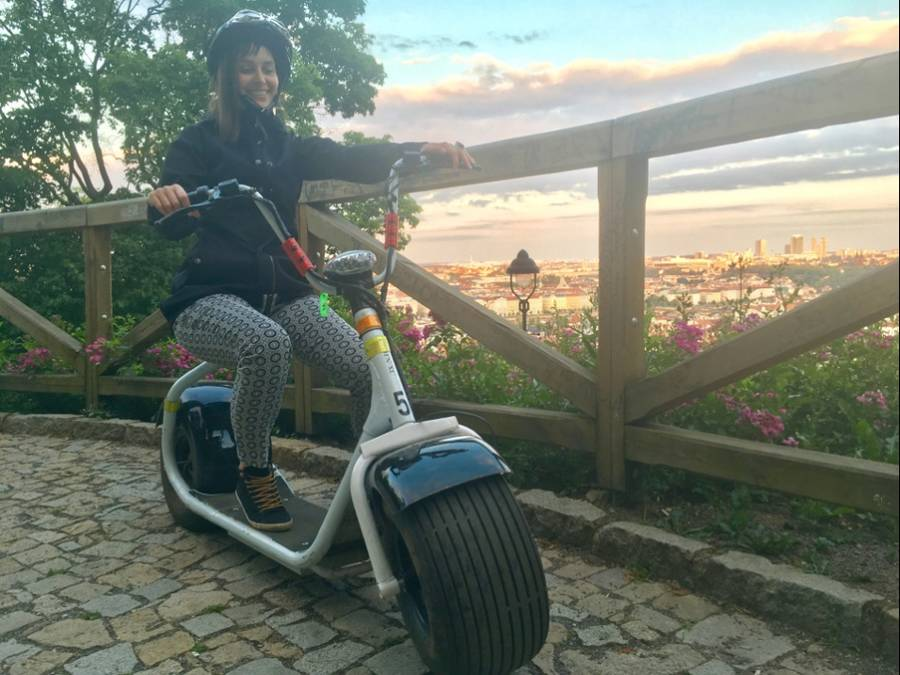 E-Scooter Tour durch Prag - Grand City Tour