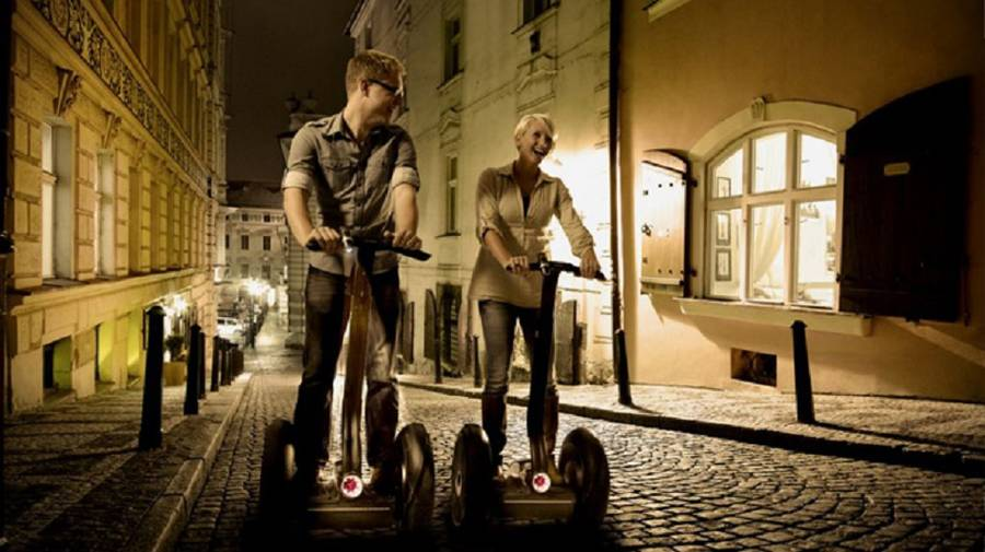 Sunset Segway Tour in Prag