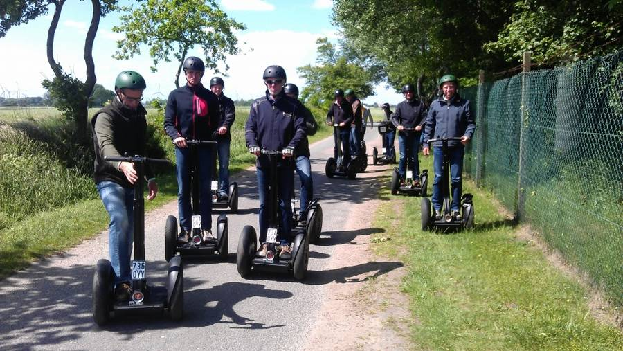 Segway - Geocaching-Schnitzeljagd-Tour