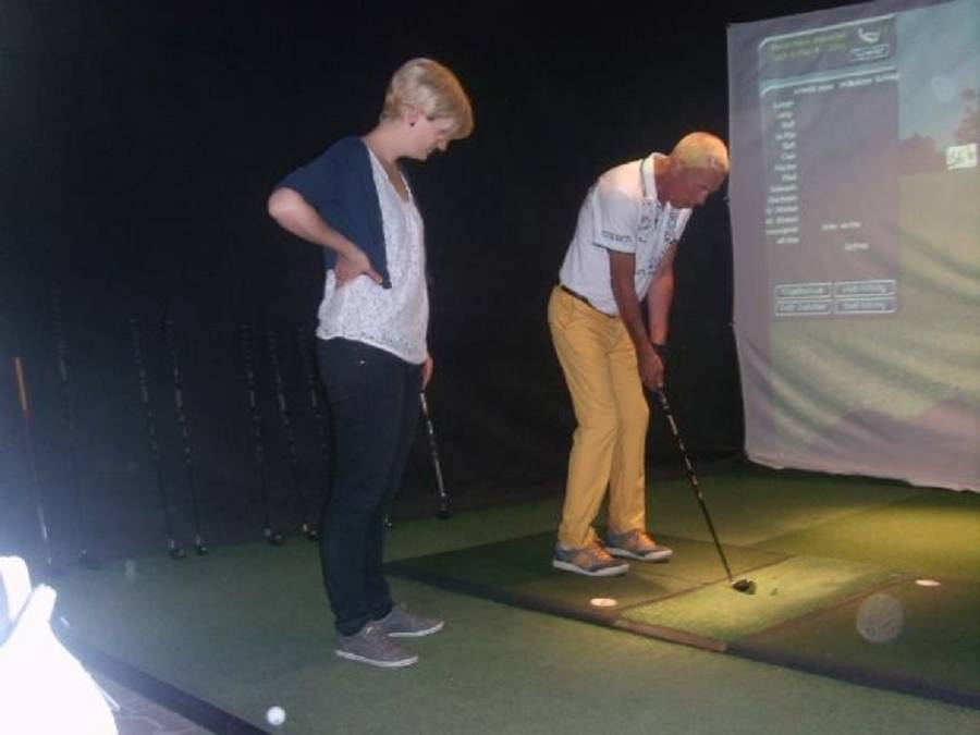 Indoor Golf als Teamevent in Gottmadingen am Bodensee