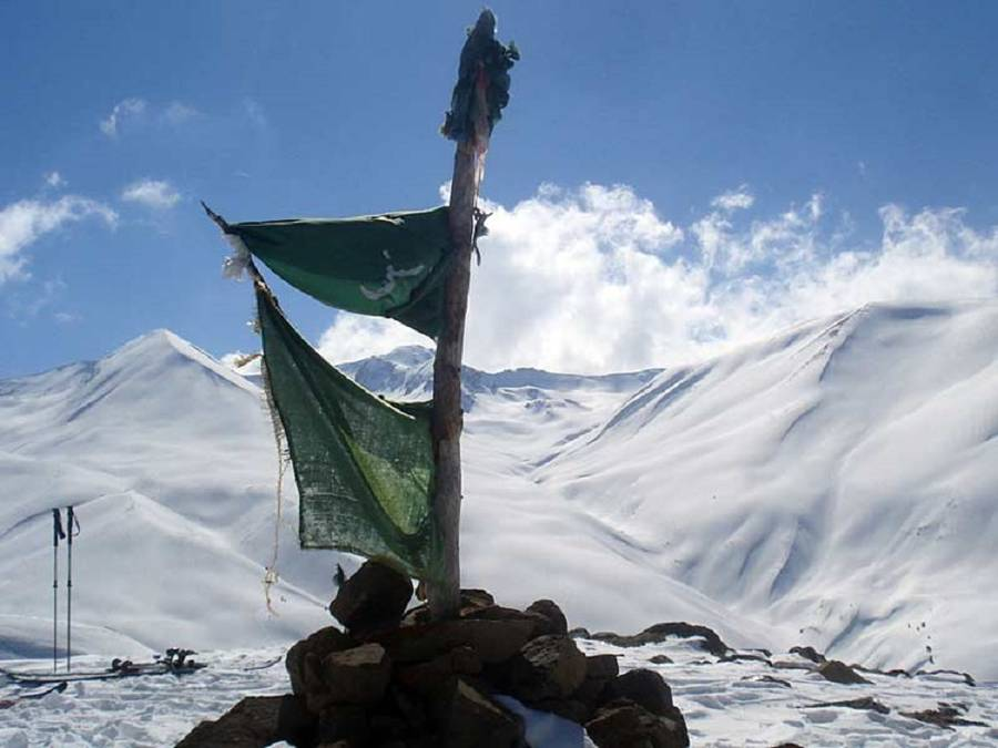 Skitouren und Freeriden am Mount Apharwat (4124 m) in Indien