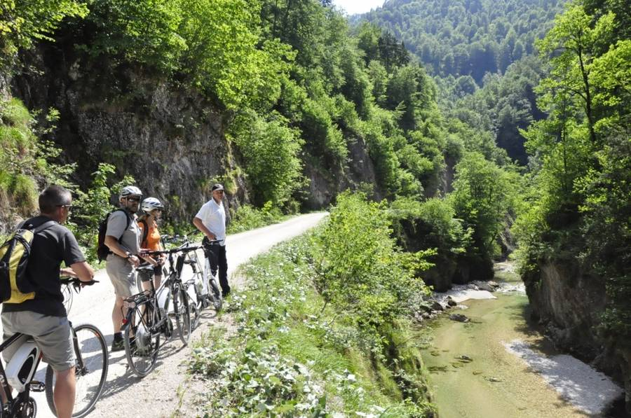 E-Bike Tour im Nationalpark Kalkalpen