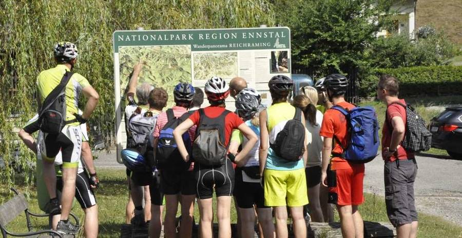 E-Bike Tour Nationalpark Kalkaplen - MTB-Almentour