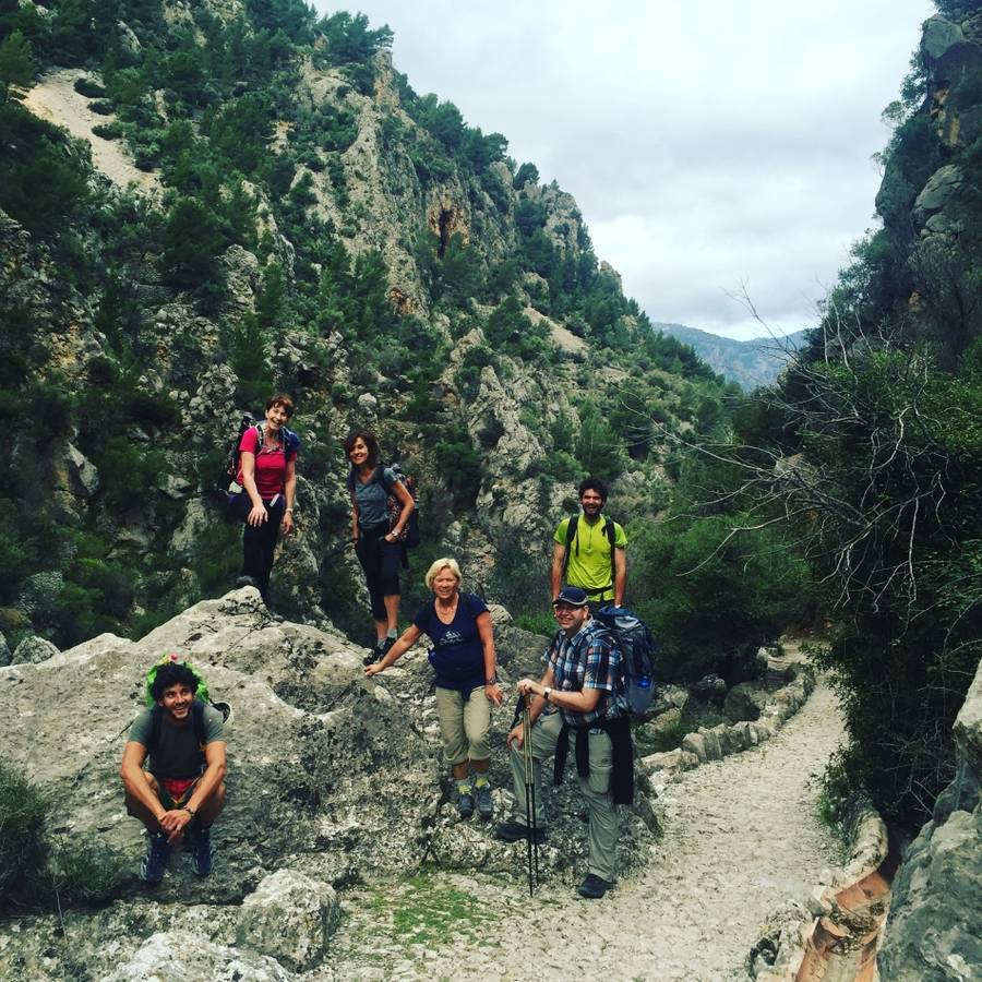 Wanderung am Torrent de Pareis - in Spanien