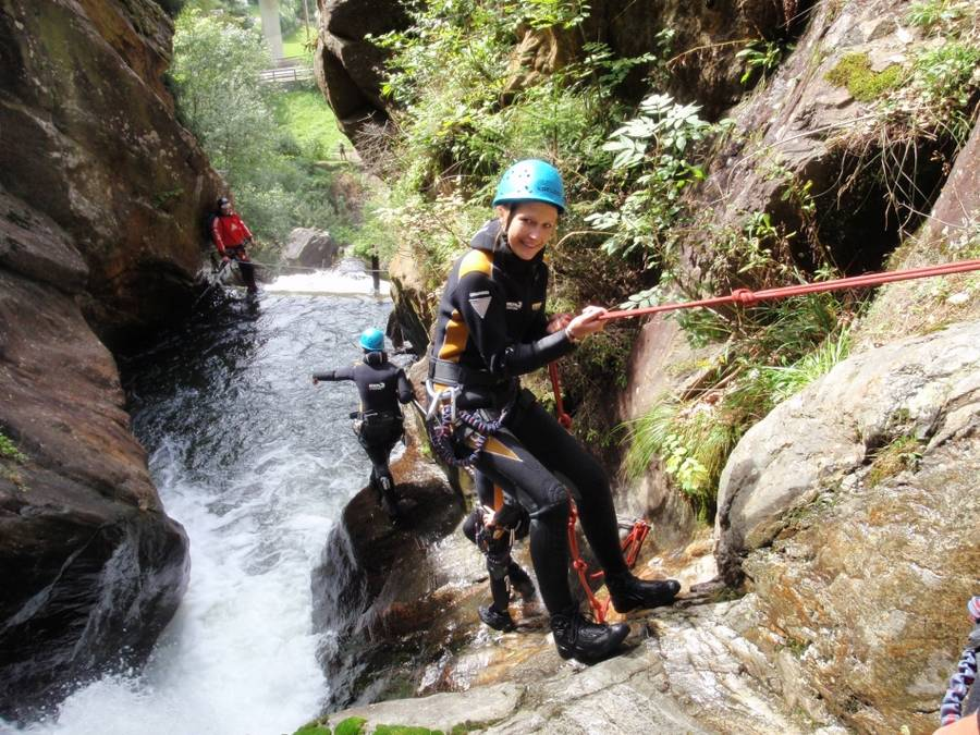 Canyoning & Rafting Special Auerklamm + Rafting Imst