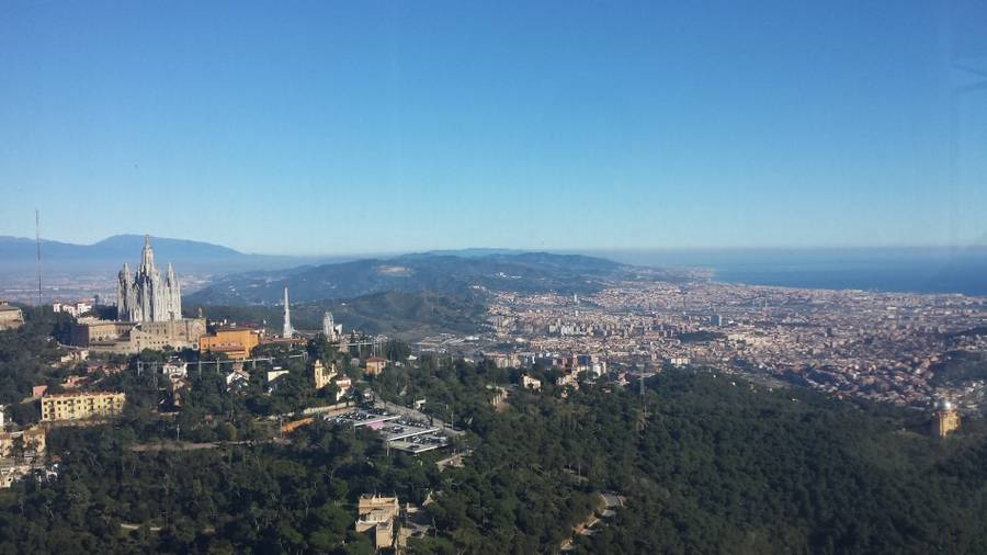 Private Halbtages-Tour auf den Collserola in Barcelona