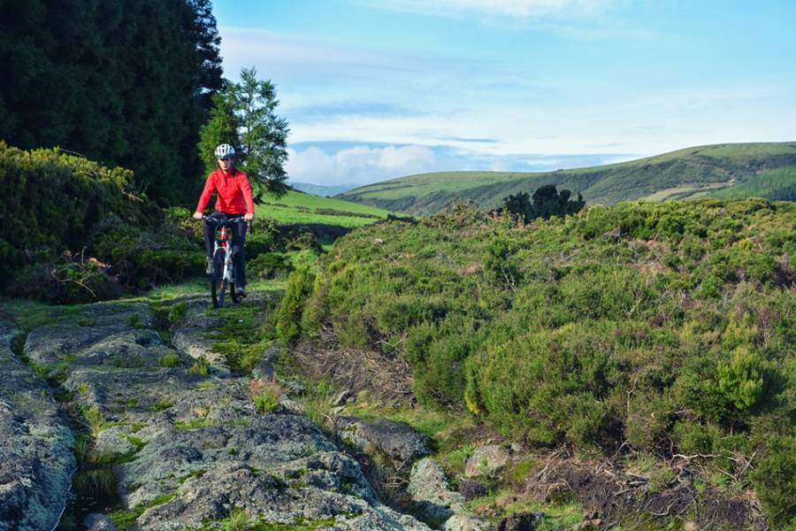Mountainbike-Tour Terceira - Auf den Spuren Darwins (Azoren)