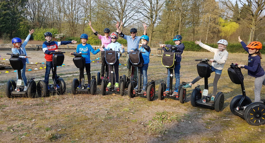 Familien Segway-Tour in Hamburg-Bergstedt