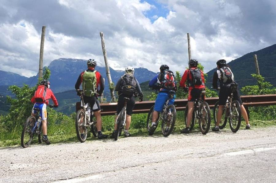 MTB Single-Trail-Camp in Kaltern bei Bozen - Südtirol