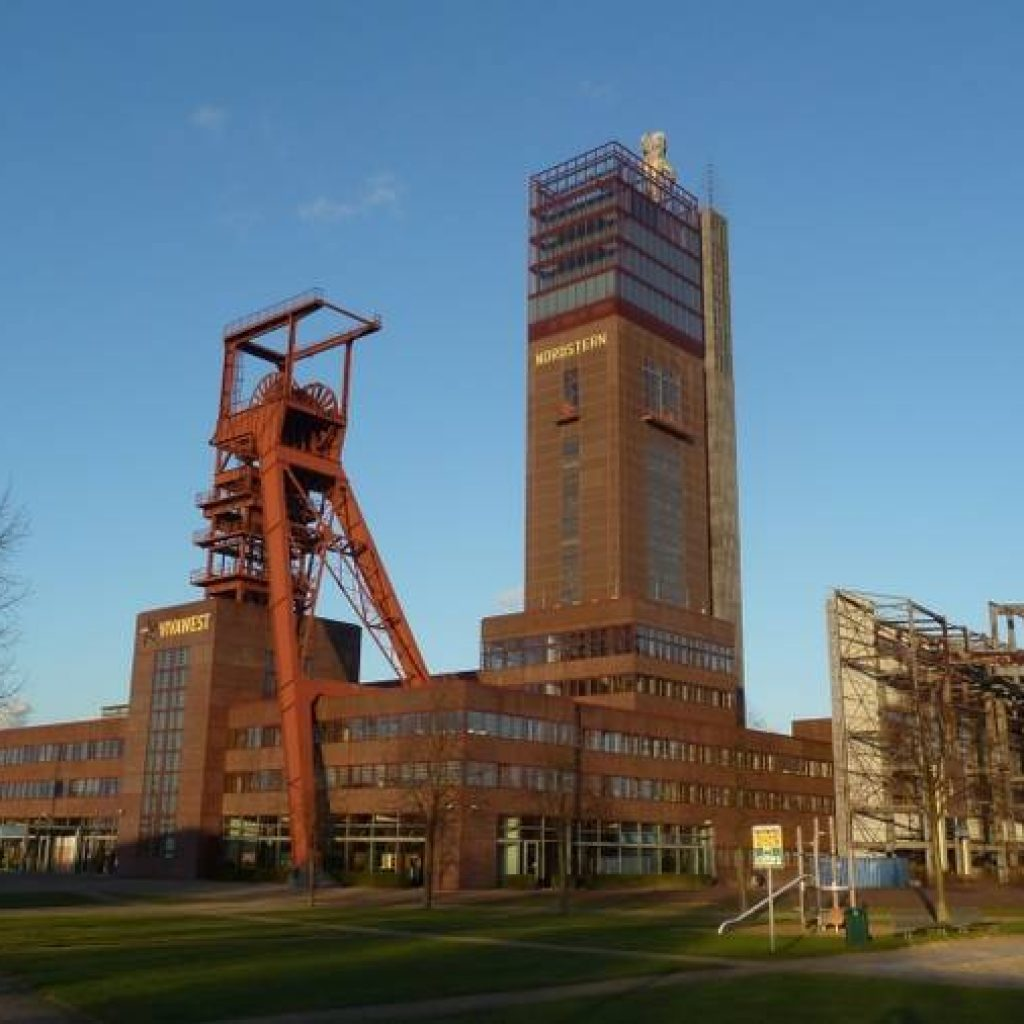 Gebäude der Zeche Zollverein