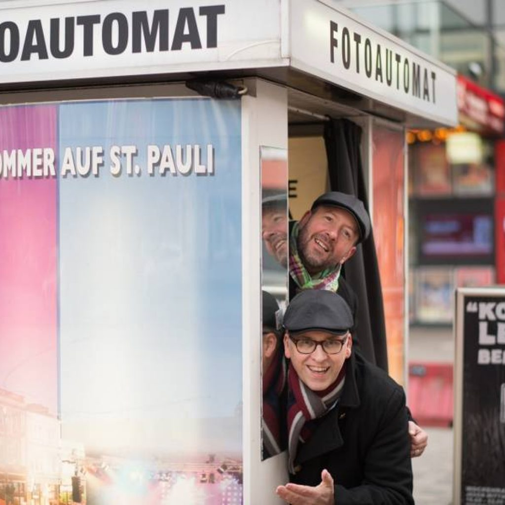 Zwei Guides der Kieztour Sankt Pauli