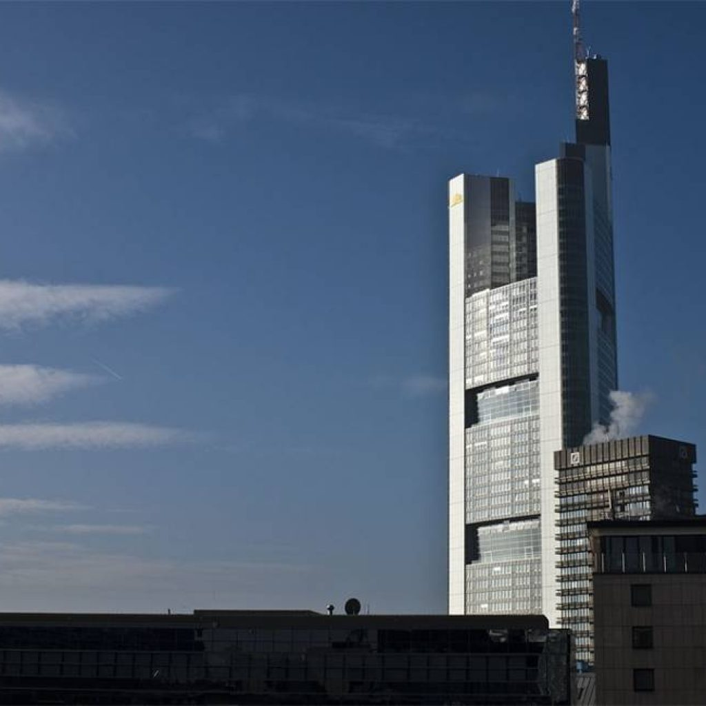 Der Commerzbank Tower in Frankfurt