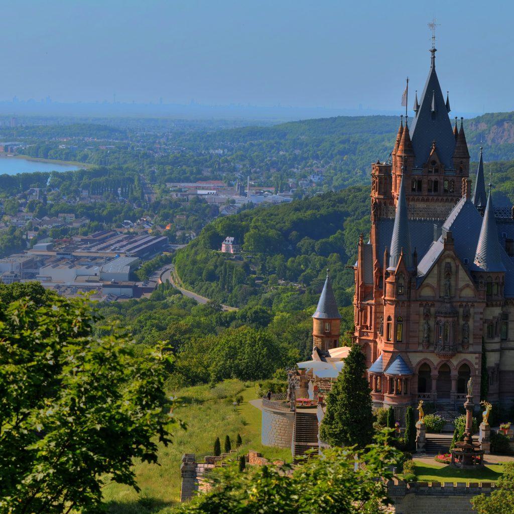 Burg über Bonn