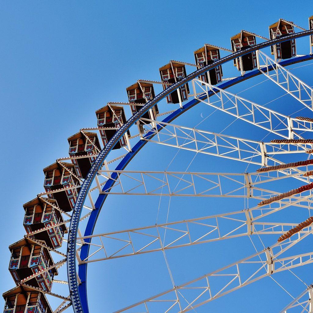 Riesenrad auf dem Oktoberfest München
