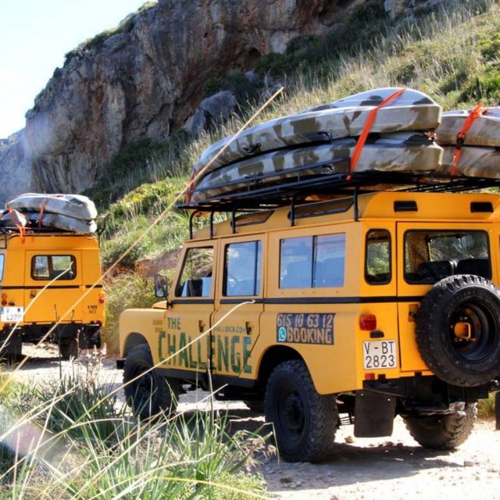 Zwei Jeeps auf Mallorca