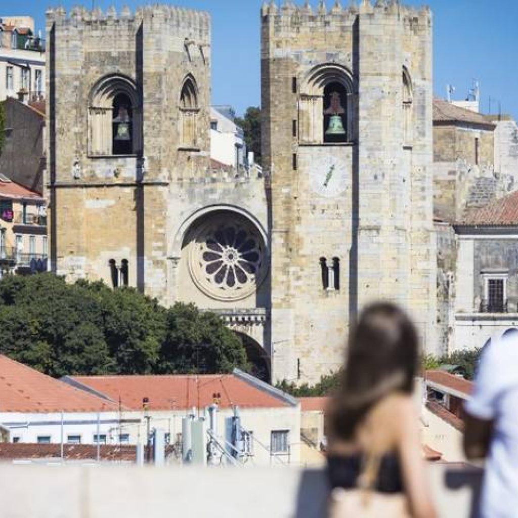 Kirche in Lissabon
