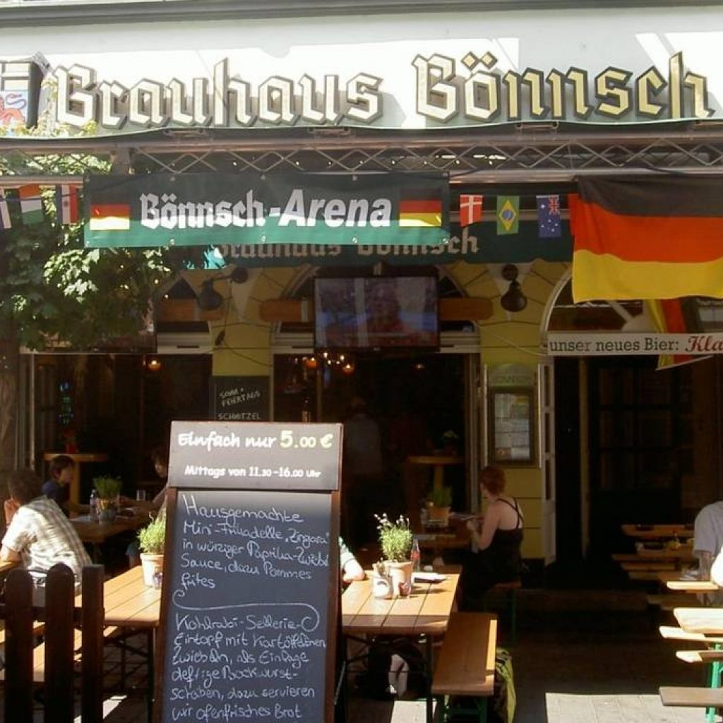 Fassade Brauhaus Gönnsch