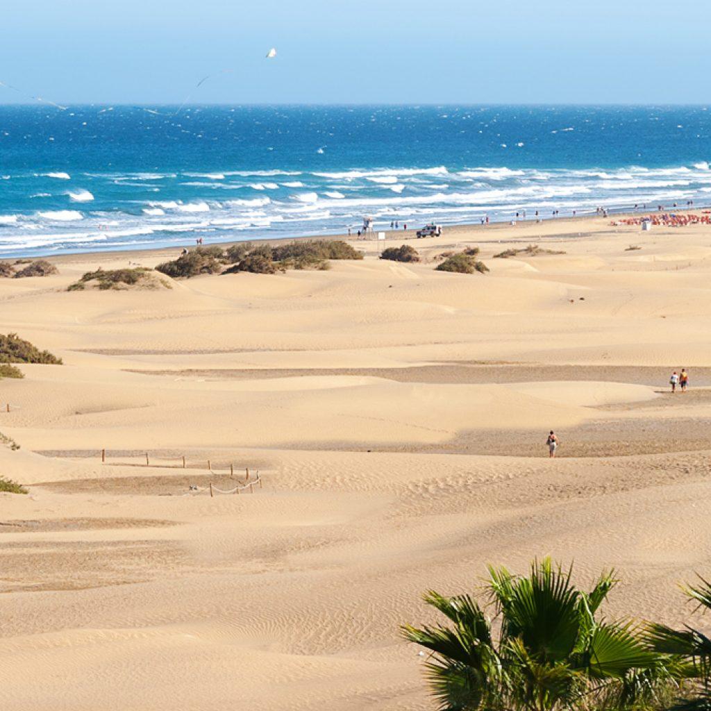 Strand von Mas Palomas