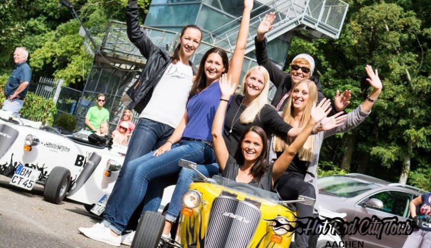 Hotrod Fahrerinnen