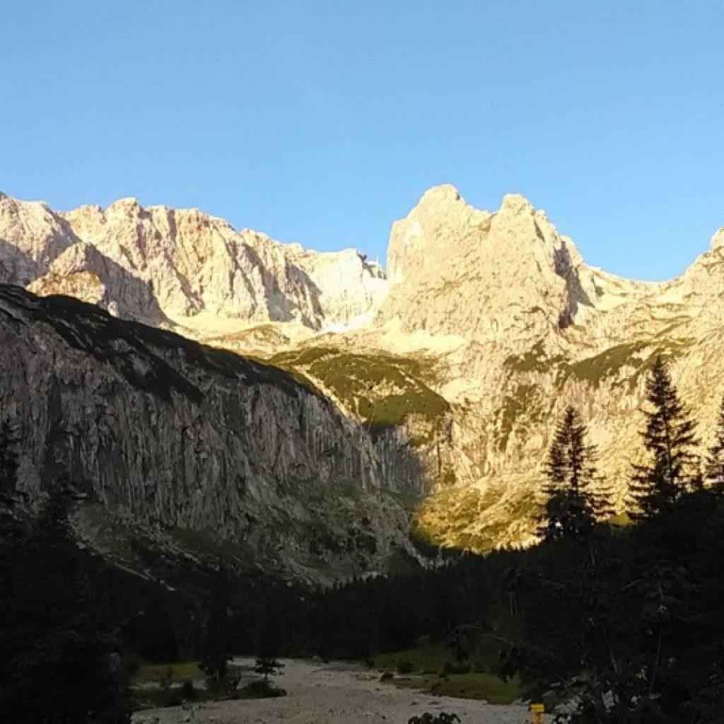 Bergmassiv Zugspitze